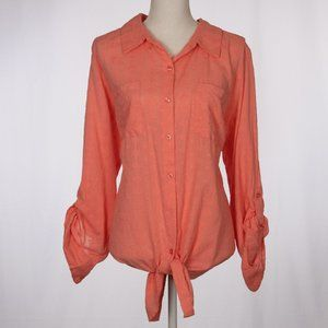 NWT STYLE & CO Tie Front Shirt Size 2X